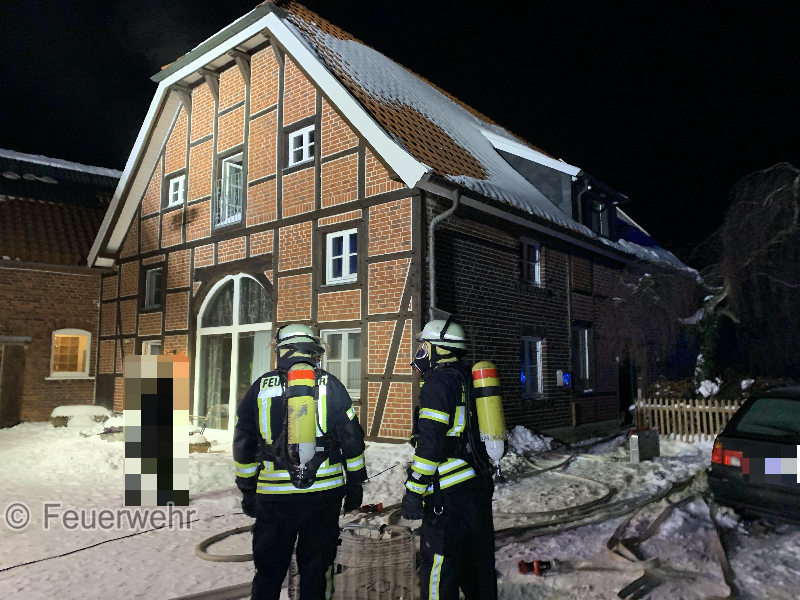 F3 - Gebäudebrand